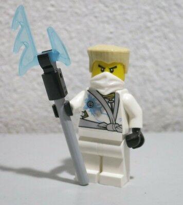 Zane Rebooted 70726 White Ninja Ninjago  Blade Lego Minifigure Mini Figure
