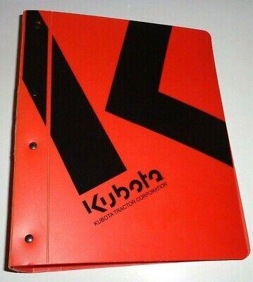 Kubota T1460 T1560 T1760 Lawn Garden Tractor Workshop Service Repair Manual Oem