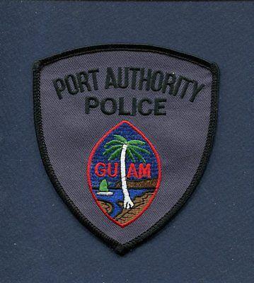 GUAM USA PORT AUTHORITY POLICE DEPARTMENT Uniform Jacket Patch