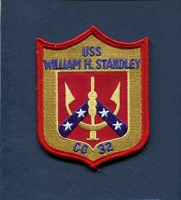 USS STANDLEY CG-32 US NAVY Cruiser Top Gun Jacket Ship Squadron Patch