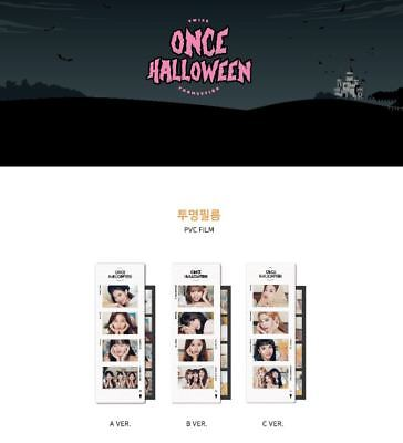 TWICE - ONCE HALLOWEEN OFFICIAL MD - PVC Film Photo - 2018 FAN MEETING GOODS ](Good Halloween Films)
