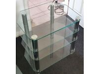 "Glass cabinet 4 shelves ""free for collection only"""