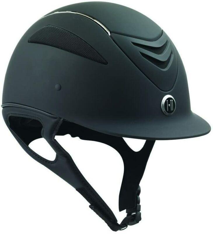 One K Defender Chrome Stripe Helmet - Black Matte CS - Medium