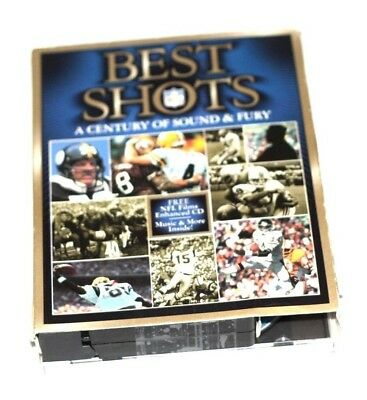 NFL Best Shots A Century of Sound & Fury CD PC Computer Software VHS (Best Vhs Computers)