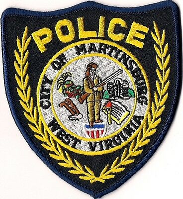 City of Martinsburg Police Patch West Virginia WV NEW!!