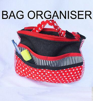 Multi-function Travel Handbag Makeup Organizer (Free Video - Free Sewing Patterns Handbags