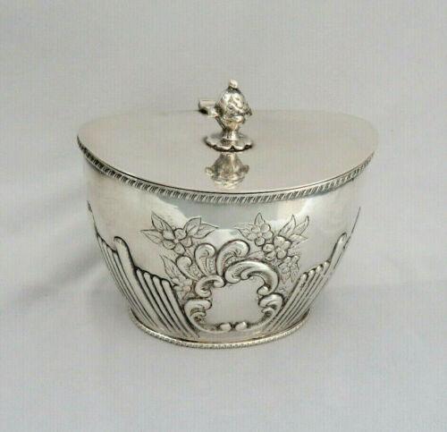 Vintage Silver Plate Biscuit Barrel