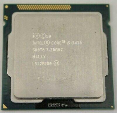 Intel Core i5-3470 Processor 3.20GHz Quad 6MB Cache SR0T8 Socket LGA 1155 CPU comprar usado  Enviando para Brazil