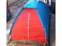 TWO MAN TENT -- USED 3 TIMES -- GOOD CONDITION -- EASY TO PUT UP -- £12