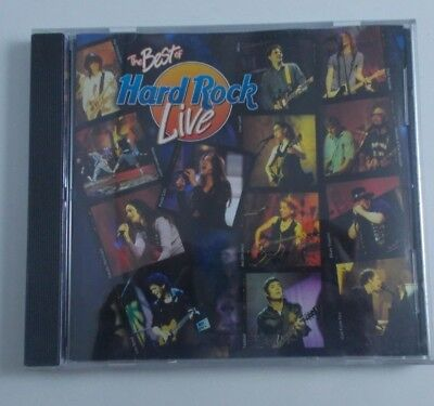 THE BEST OF THE HARD ROCK LIVE- CD- pre-owned PRETENDERS-BEN FOLDS FIVE-LOU