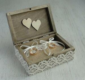 Wedding Ring Box Personalized Wedding Ring Bearer Ring