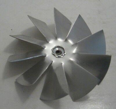 Air Drive 4 X 14 Bore Fan Blade - 10 Wing Aluminum Fan Blade - Cw - 14 Bore