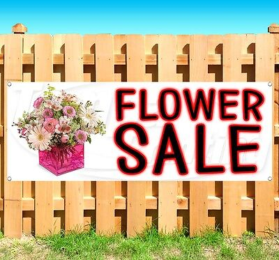 Flower Sale Advertising Vinyl Banner Flag Sign Many Sizes Available Usa