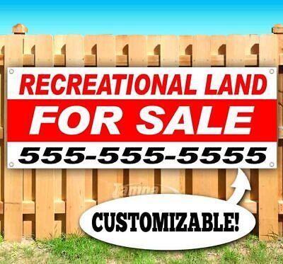 Recreational Land For Sale Advertising Vinyl Banner Flag Sign Custom Ph