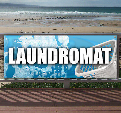Laundromat Advertising Vinyl Banner Flag Sign - Many Sizes Available - Usa
