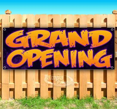 Grand Opening Advertising Vinyl Banner Flag Sign Many Sizes Available Barbecue