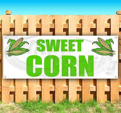 Sweet Corn Advertising Vinyl Banner Flag Sign Large Sizes Farm Produce