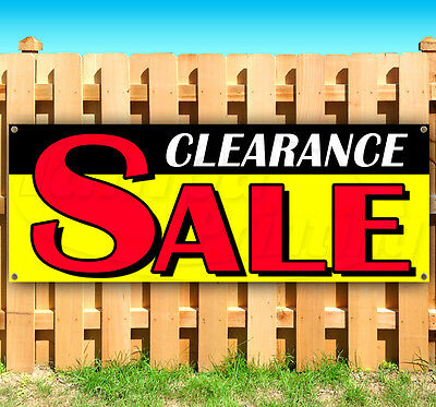 Clearance Sale Advertising Vinyl Banner Flag Sign Many Sizes Available Usa