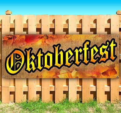 Oktoberfest Banner (OKTOBERFEST Advertising Vinyl Banner Flag Sign Many Sizes FALL FESTIVAL)