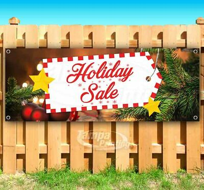HOLIDAY SALE Advertising Vinyl Banner Flag Sign Many Sizes Available -