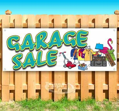 Garage Sale Advertising Vinyl Banner Flag Sign Many Sizes
