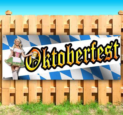 Oktoberfest Banner (OKTOBERFEST Advertising Vinyl Banner Flag Sign Many Sizes FALL FESTIVAL USA)