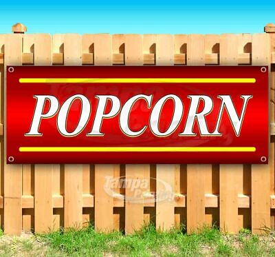 Popcorn Advertising Vinyl Banner Flag Sign Many Sizes Available Usa Food