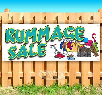 Rummage Sale Advertising Vinyl Banner Flag Sign Many Sizes