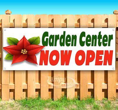 Garden Center Now Open Advertising Vinyl Banner Flag Sign Many Sizes Usa