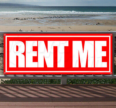 Rent Me Advertising Vinyl Banner Flag Sign Many Sizes Available Usa