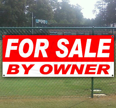 For Sale By Owner Advertising Vinyl Banner Flag Sign Many Sizes Available Usa
