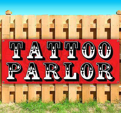 Tattoo Parlor Advertising Vinyl Banner Flag Sign Many Sizes Available Usa