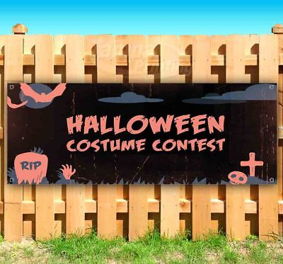 HALLOWEEN COSTUME CONTEST Advertising Vinyl Banner Flag Sign Many Sizes USA