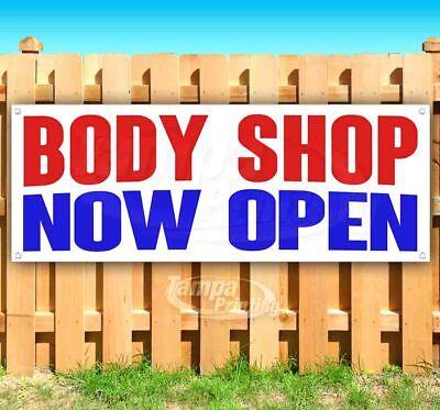 Body Shop Now Open Advertising Vinyl Banner Flag Sign Many Sizes