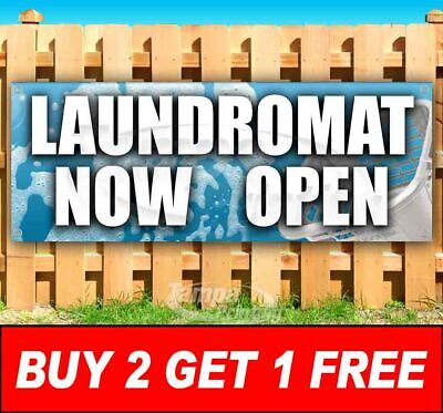 Buy Two Get One Free Open Advertising Vinyl Banner Flag Sign Many Sizes Laundry