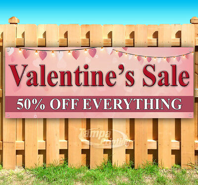 VALENTINE'S SALE 50% OFF Advertising Vinyl Banner Flag Sign Many Sizes USA](Valentine Sale)
