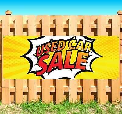 Used Car Sale Advertising Vinyl Banner Flag Sign Many Sizes Available Usa