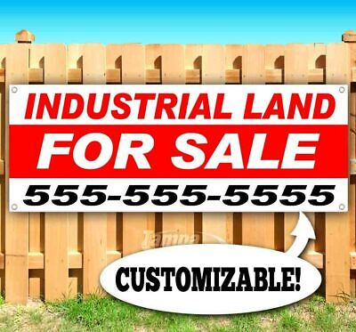 Industrial Land For Sale Advertising Vinyl Banner Flag Sign Custom Ph