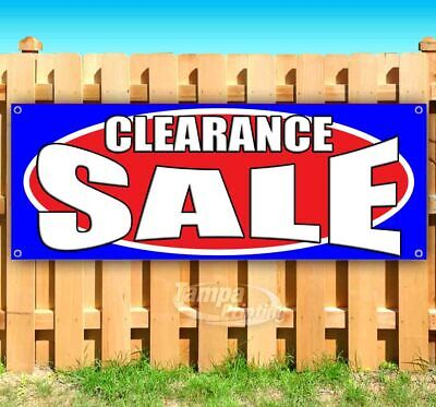 Clearance Sale Advertising Vinyl Banner Flag Sign Many Sizes Usa