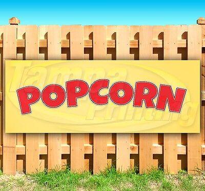 Popcorn Advertising Vinyl Banner Flag Sign Many Sizes Available Usa