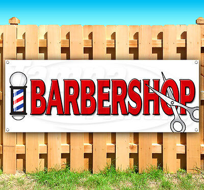 Barbershop Advertising Vinyl Banner Sign Large Sizes Business Signs Usa