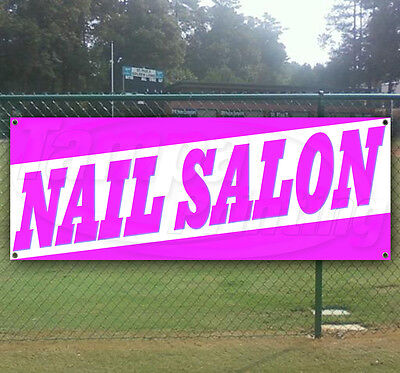 Nail Salon Advertising Vinyl Banner Flag Sign Usa Many Sizes Available Usa