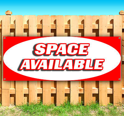 Space Available Advertising Vinyl Banner Flag Sign Many Sizes Available Rent Usa