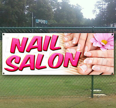 Nail Salon Advertising Vinyl Banner Flag Sign Many Sizes Available Usa