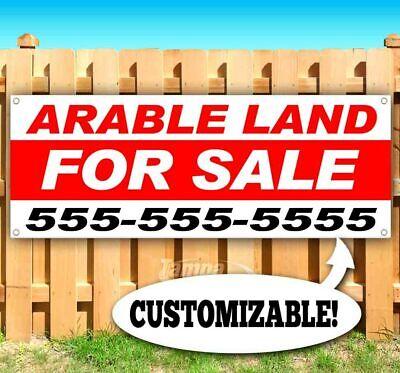 Arable Land For Sale Advertising Vinyl Banner Flag Sign Custom Ph