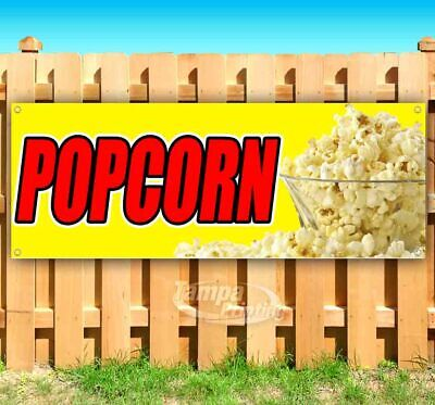 Popcorn Advertising Vinyl Banner Flag Sign Many Sizes Available Usa