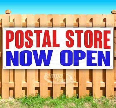 Postal Store Now Open Advertising Vinyl Banner Flag Sign Many Sizes