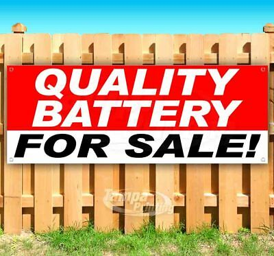 Quality Battery For Sale Advertising Vinyl Banner Flag Sign Many Sizes