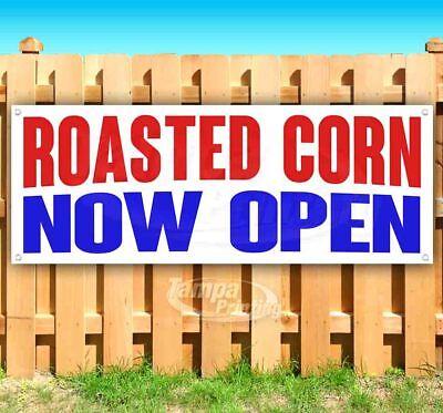 Roasted Corn Now Open Advertising Vinyl Banner Flag Sign Many Sizes
