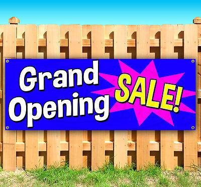 Grand Opening Sale Advertising Vinyl Banner Flag Sign Many Sizes Available Usa